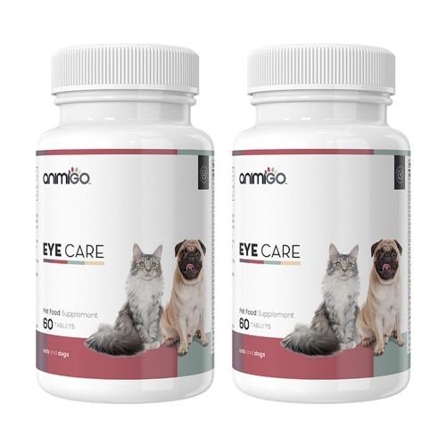 Eye Care för Ögon - Naturliga Tabletter för Ögonvård för Hund och Katt - Animigo - 60 Tabletter - 2