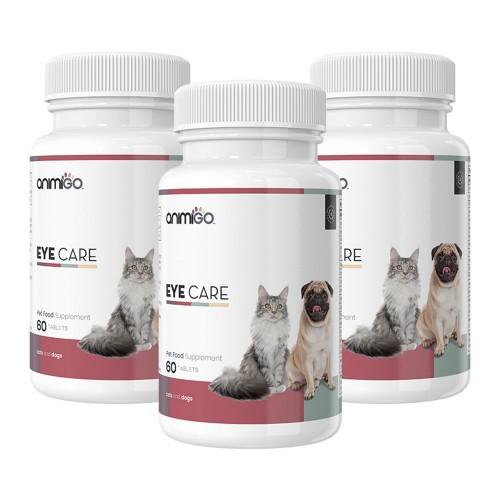 Eye Care för Ögon - Naturliga Tabletter för Ögonvård för Hund och Katt - Animigo - 60 Tabletter - 3
