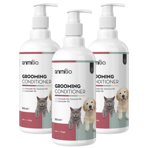 Balsam för Hund och Katt - Naturligt Balsam för Hundar och Katter - Animigo - 500 ml - 3 Pack