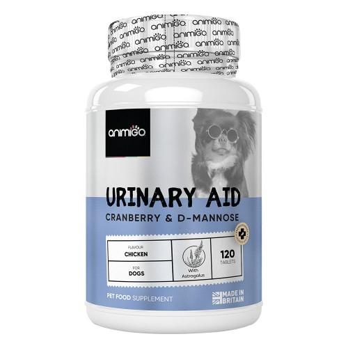 Urinary Aid för hundar - Mjuka och naturliga tuggtillskott med tranbär - 120 tabletter